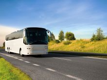 Motorcoaches can take you around the city and across the Bay Area