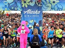As the ubiquitous mascot for the Bay to Breakers, Ape Hashbury has a unique perspective on San Francisco.