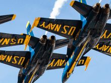 Every October, San Francisco gives the Blue Angels permission to buzz the (Coit) tower during Fleet Week. Here are the best views to see them flying overhead.