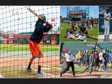 Oracle Park On-Field Events
