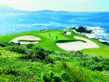Golf at Pebble Beach in Monterey County