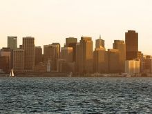 Spring Forward in San Francisco | San Francisco skyline at sunrise