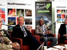 Willie Brown and Will Durst interview Joe d'Alessandro