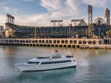 On the Water with California Spirit near Oracle Park