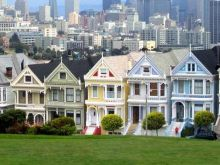 Painted Ladies, Alamo Square Park