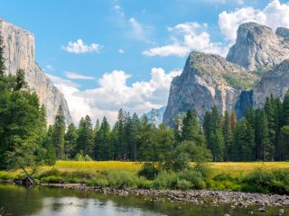 Yosemite in the summer