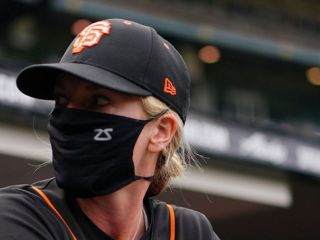 Alyssa Nakken is the first full-time female coach in Major League Baseball. We asked her what she love most about San Francisco.