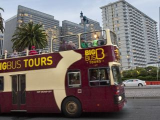 A Big Bus Tour along The Embarcadero