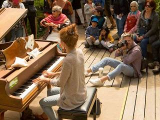 Dean Mermell knows a thing or two about music. His love for pianos was turned into the annual Flower Piano event in Golden Gate Park. Dean tells us a little bit about what he loves about San Francisco.