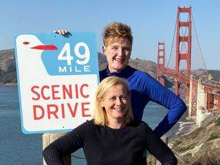 Hear from the women who have covered all of San Francisco on foot!