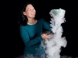 Julie Yu, Senior Scientist at the Exploratorium