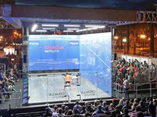 The annual Oracle NetSuite Open Squash Championship returns to the San Francisco Bay waterfront, Sept. 22-27, 2021