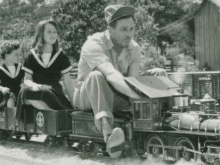 Walt Disney on Trains