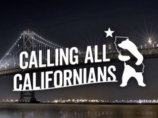 Calling all Californians to San Francisco