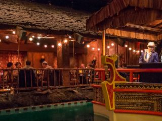 The Tonga Room in the Fairmont Hotel