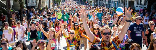 Bay to Breakers Celebrates San Francisco