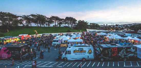 Whether you're on the go or just want to visit as many food trucks as possible, San Francisco has terrific options!