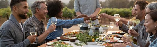 Come gather in Sonoma County this holiday and winter season. This bountiful land and its people are ready to pull up another seat to the table, another glass at the wine bar, and share everything to be thankful for.