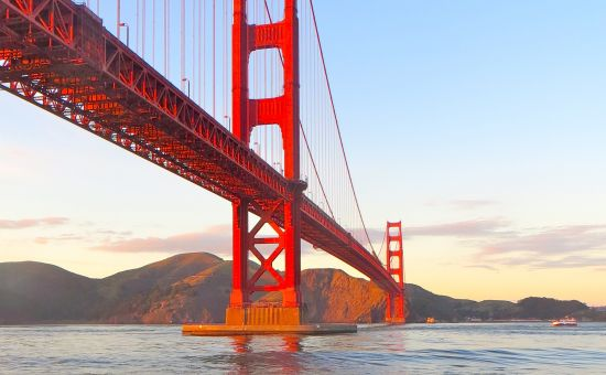 10 More Things to do with Your Extra Hour in San Francisco   Golden Gate Bridge